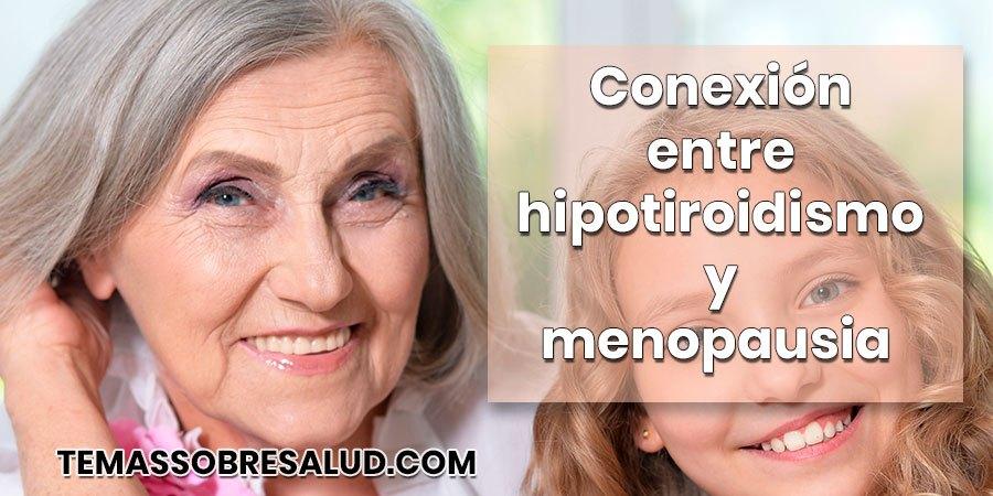 La conexión bidireccional entre hipotiroidismo y menopausia levotiroxina