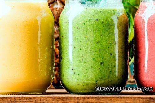 Batidos verdes fructuosa