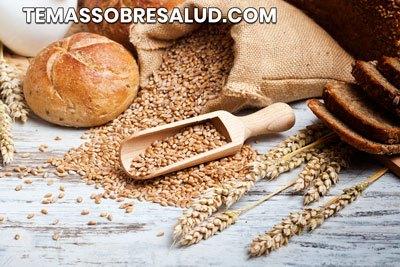 El trigo es una fuente muy rica de gluten