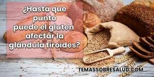 Hipotiroidismo Hashimoto y el gluten