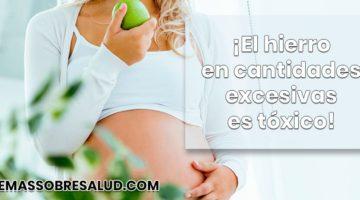 Prevención del Déficit de hierro durante el embarazo