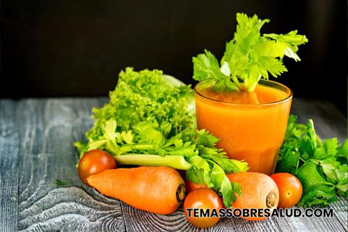 Las zanahorias son ricas en betacaroteno, luteína y zeaxantina
