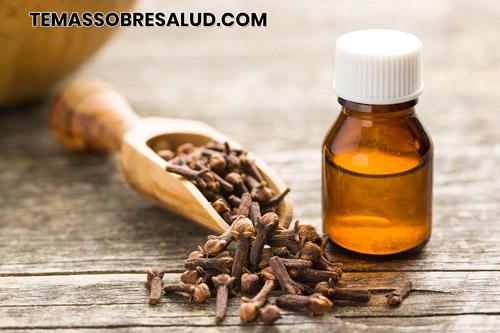 Aceite esencial de clavo de olor y dolor de garganta