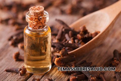 El aceite de clavo de olor tiene potentes propiedades antioxidantes