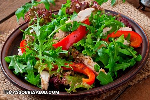 Nutritiva ensalada