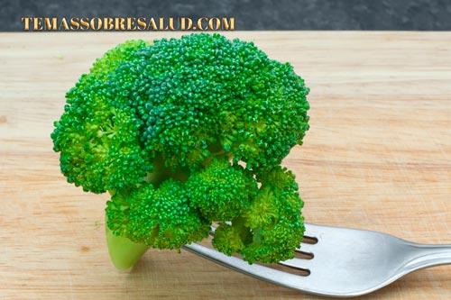 Brócoli crucíferas
